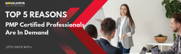 Top 5 Reasons PMP Certified Professionals Are In Demand